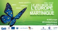 prggramme de l'édition 2018 du joli mois de l'europe en Martinique