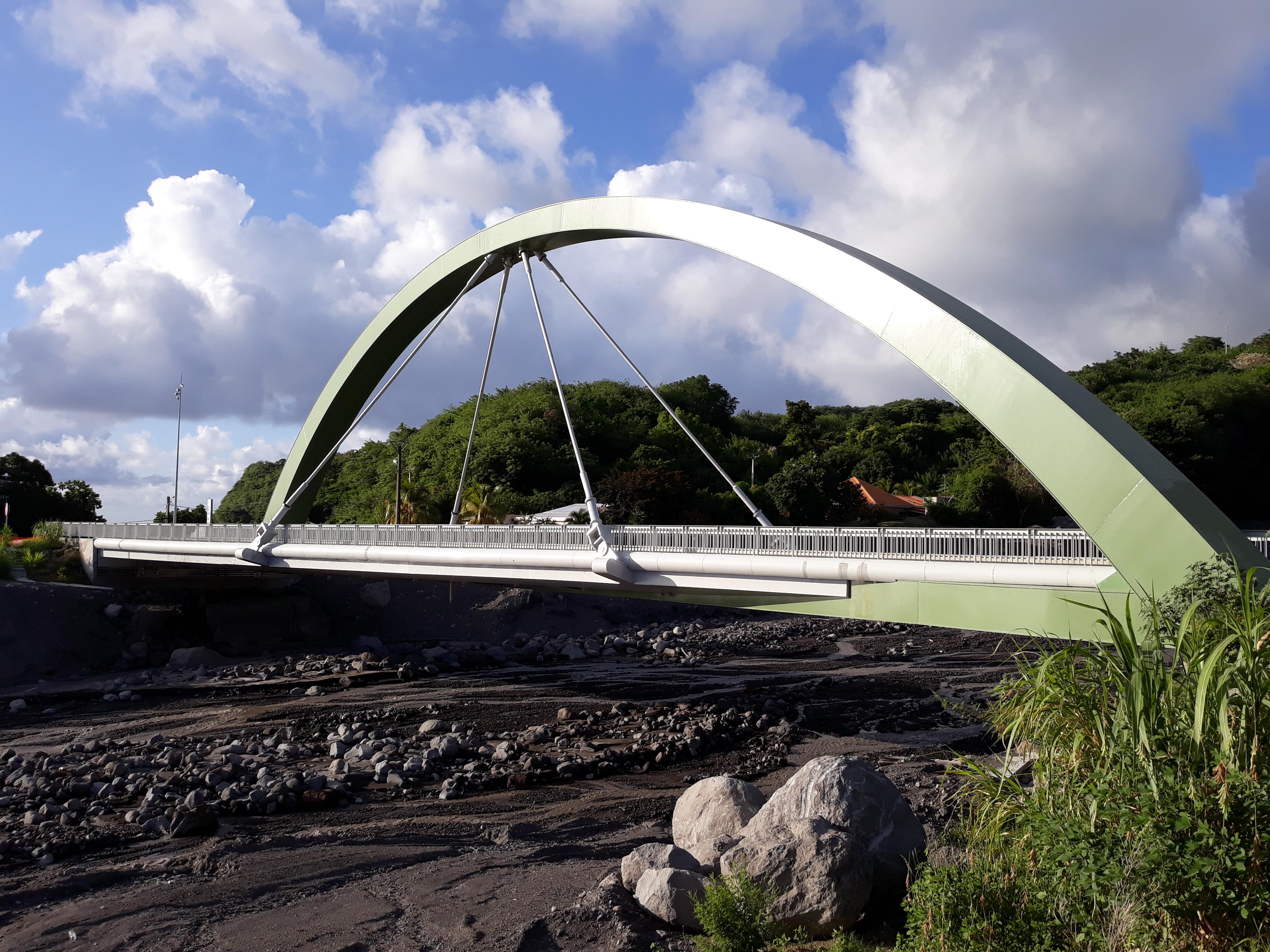 nouveau pont du prêcheur inauguré le 21 décembre 2017